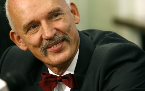 Janusz Korwin-Mikke. Fot. nczas.com