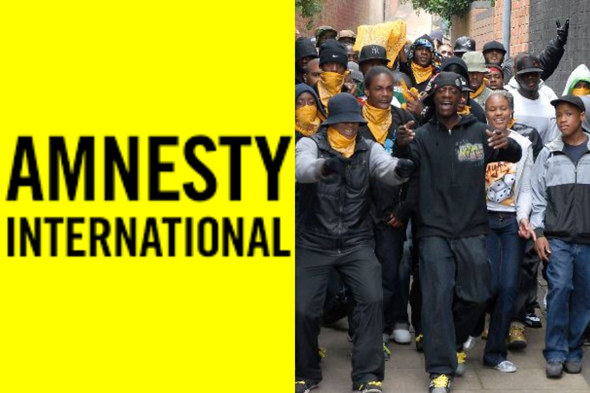 Amnesty International i londyński gang