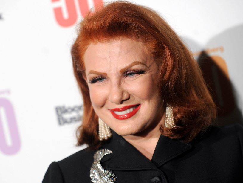 Georgette Mosbacher. Foto: PAP/Alamy Stock Photo