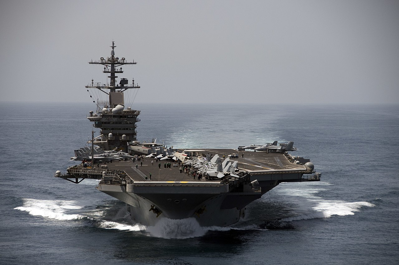 USS Theodore Roosevelt Źródło: (U.S. Navy Photo by Mass Communication Specialist 3rd Class Anthony N. Hilkowski/Released)