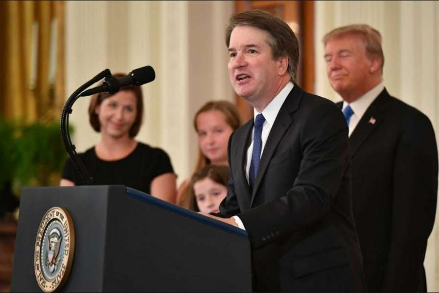 Brett Kavanaugh. / fot. YouTube