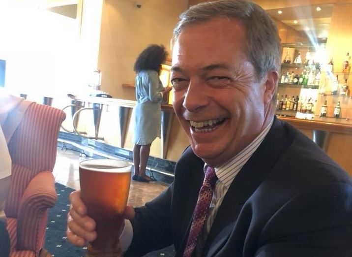 Nigel Farage. Foto: fb
