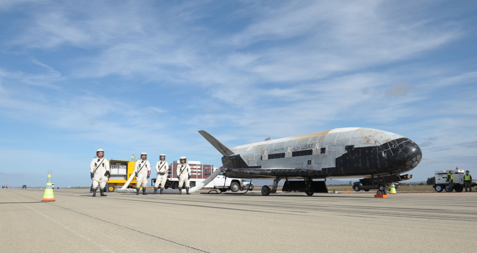 X-37B/fot. U.S. Air Force