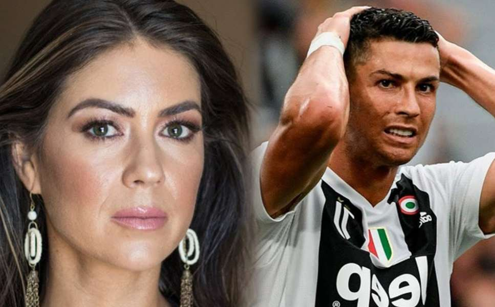 Kathryn Mayorga oraz Cristiano Ronaldo. / foto: YouTube/Hot News 24 Today
