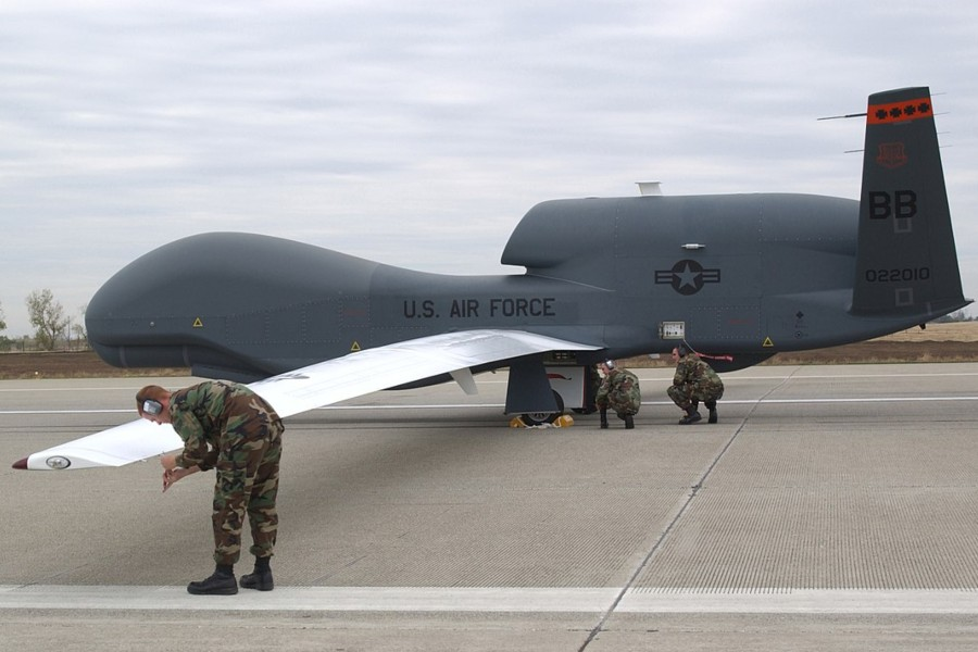 Dron RQ-4 Global Hawk. Foto: wikimedia