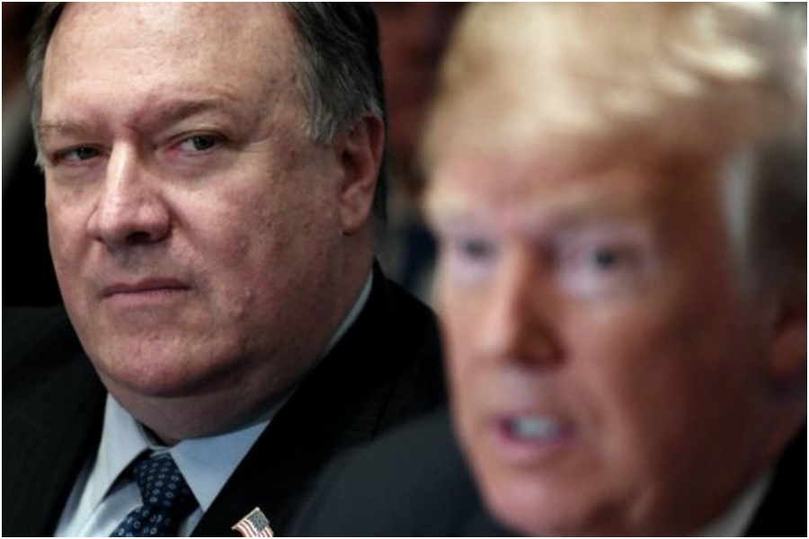Mike Pompeo prezydent USA Donald Trump. Foto: Twitter
