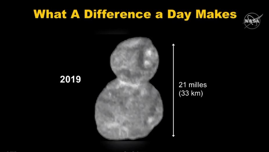 Ultima Thule fot. NASA