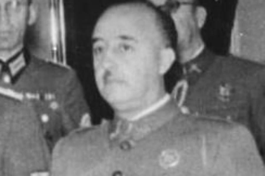 Gen. Francisco Franco/fot. Bundesarchiv/CC-BY-SA 3.0/Wikimedia Commons