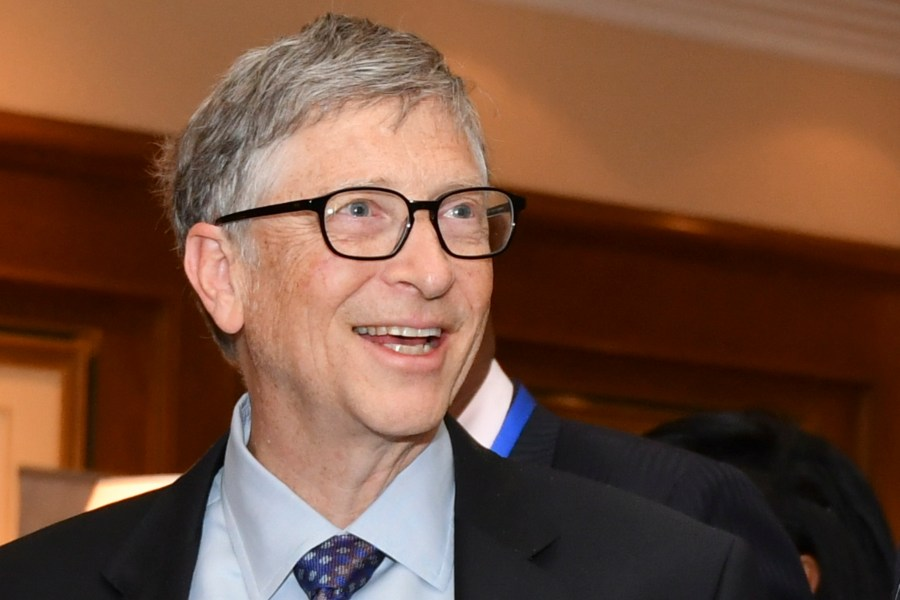 Bill Gates/fot. PAP/EPA