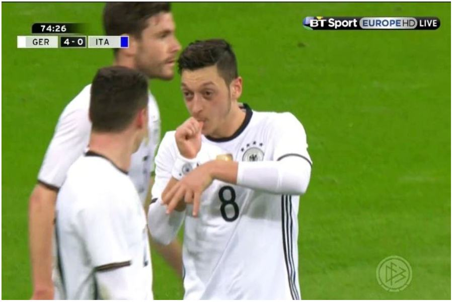 Mesut Ozil. / foto: YouTube