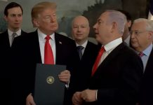 Trump i Netanjahu fot. screen youtube.com/IsraeliPM
