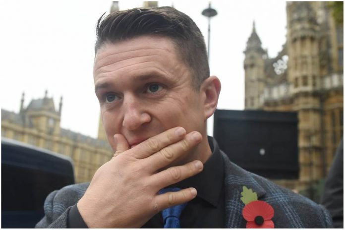 Tommy Robinson. / foto: PAP