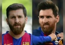 Reza Parastesh (z lewej) i Leo Messi / Fot. Instagram/rezaparastesh