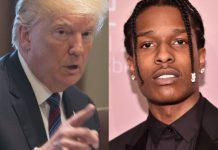 Donald Trump i Asap Rocky. Foto: PAP/ Facebook: Asap Rock