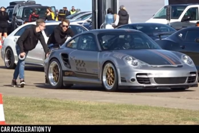 9ff Porsche 911 Turbo S Rocket. Foto: YouTube / Car Acceleration TV