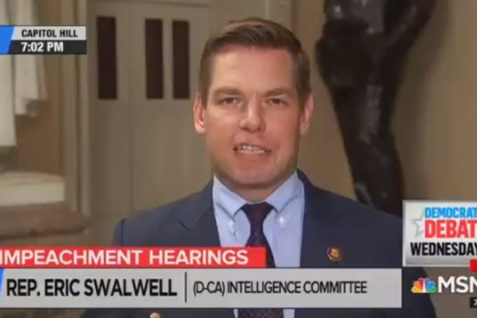 Eric Swalwell/fot. Twitter Andrew Lawrence