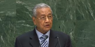 premier Malezji Mahathir bin Mohamad/Fot. screen YouTube United Nations