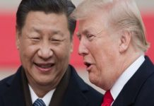 Przywódcy Chin i USA, Xi Jinping i Donald Trump fot. You Tube