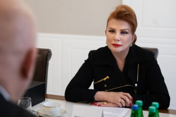 Georgette Mosbacher. / foto: Flickr