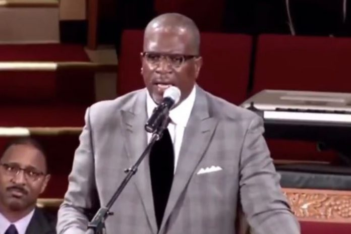 Pastor Terry Anderson.