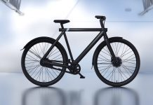 Rower VanMoof. Fot. screen YT