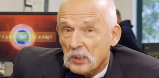 Janusz Korwin-Mikke. / foto: YouTube: Super Express