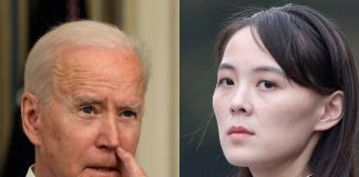 Joe Biden, Kim Yo-jong Źródło: PAP, collage